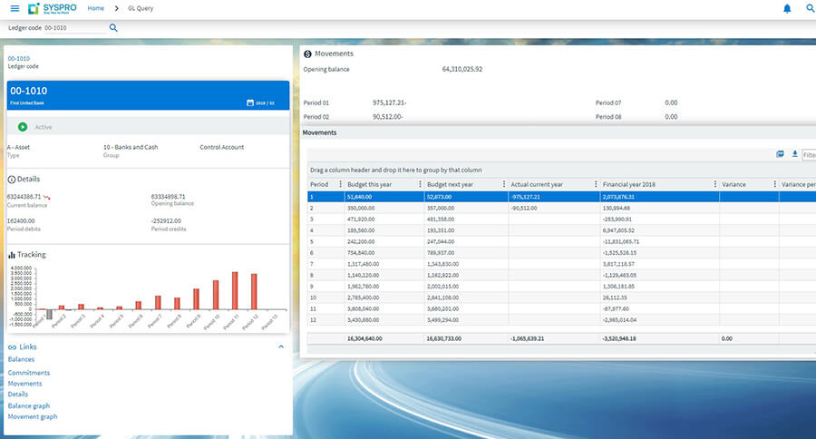 SYSPRO-ERP-software-system-Cost-Contro